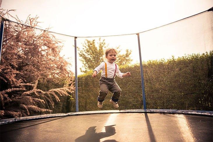 best way to fix trampoline net